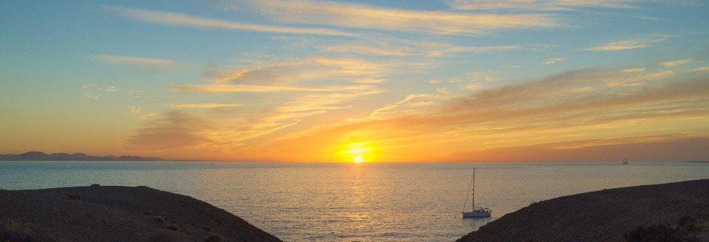 Papagayo Beach Sunset, Lanzarote