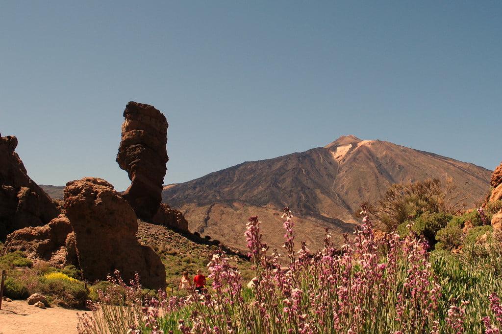 View from inside the Las Cañadas del Teide Caldera.