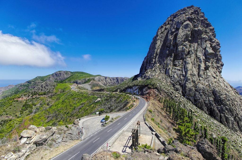 La Gomera - Roque El Cano, La Gomera, Canary island, Spain